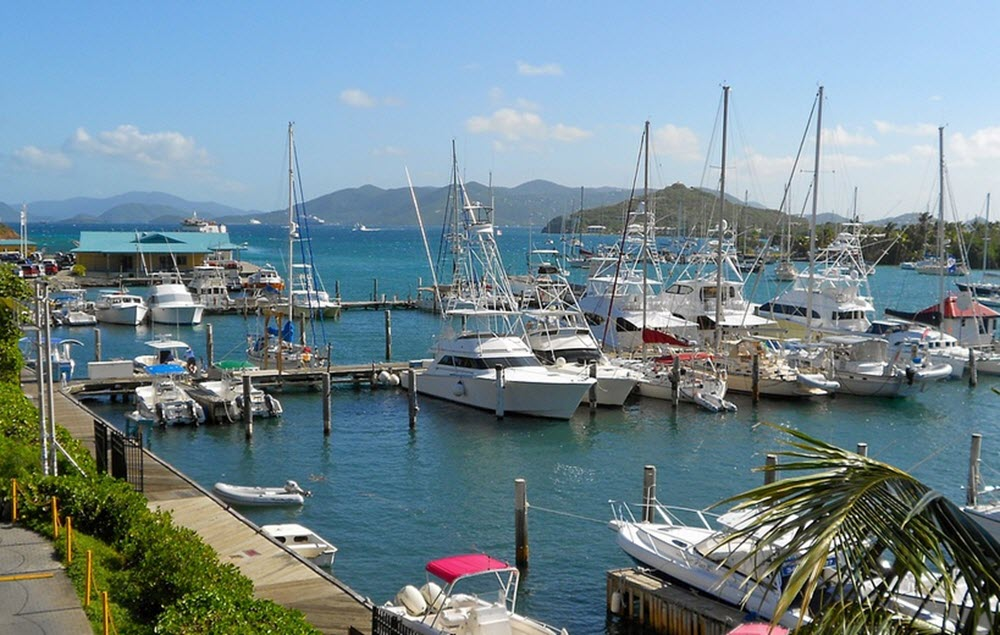 virgin islands Saint Thomas boats